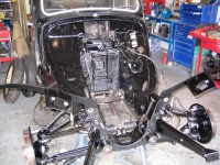 rebuilt Traction Avant front end